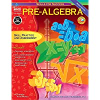 Pre-Algebra: Skill Practice and Assessment for Middle School (Skills for Success Series)