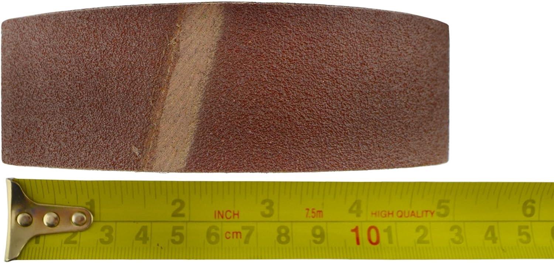 G/ürtel Power File Sander Schleifschleifb/änder 305mm x 40mm Mixed Grit 20pk