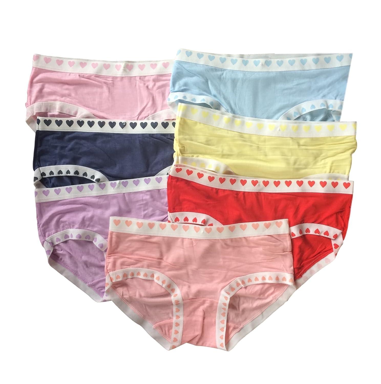 adolescente ragazze Intimo 7 Pack colore misto Slip/Mutande (146-176)(una dimensione a montare 11-16 anni).