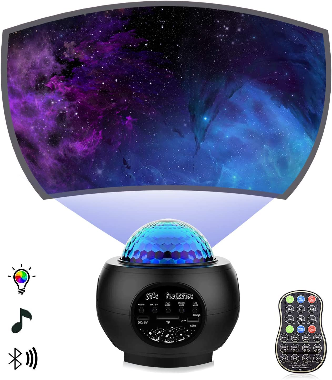 80% Off Coupon – Star Projector Night Light
