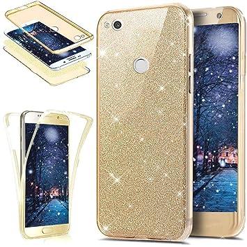 Funda Huawei P8 Lite 2017,ikasus Brillantes Lentejuelas Estrella ...