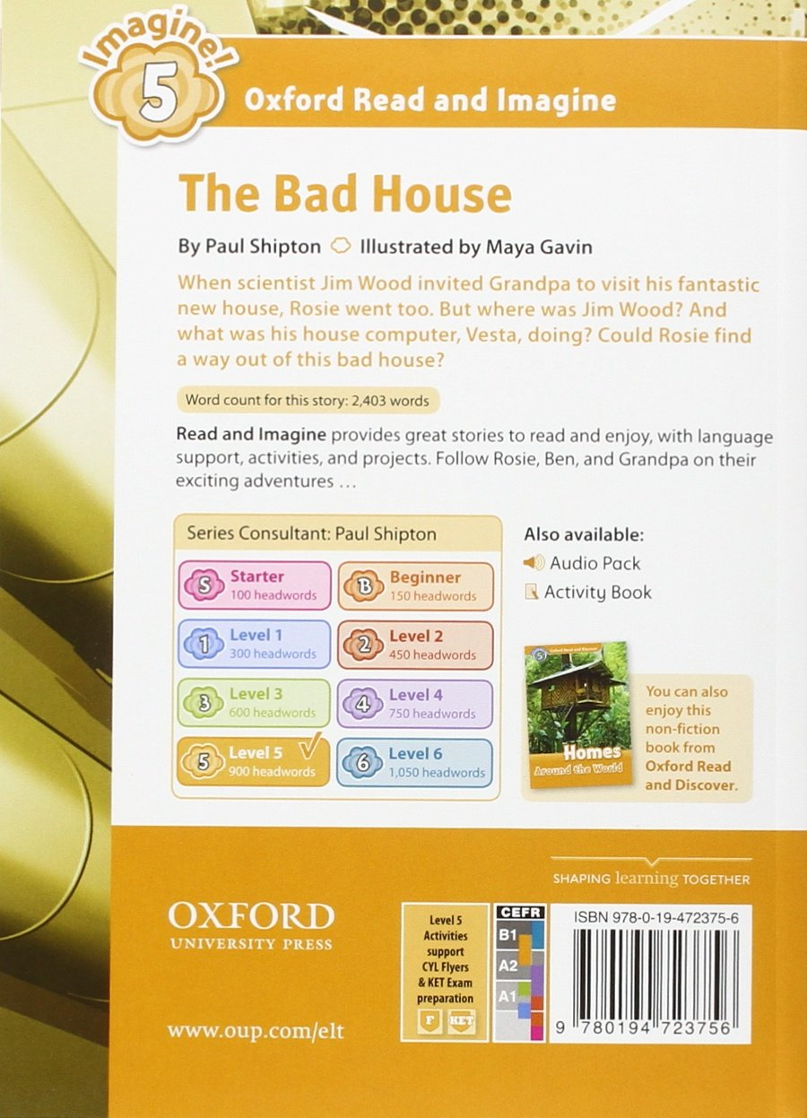 oxford and imagine level 5 the bad house paul shipton oxford and imagine level 5 the bad house paul shipton 9780194723718 amazon com books