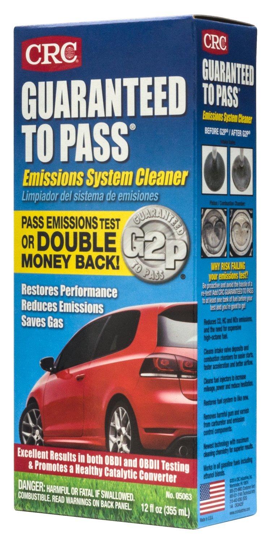 Emissions Testing Spokane >> Crc 05063 12 Fluid Ounce Guaranteed To Pass Emissions Test Formula