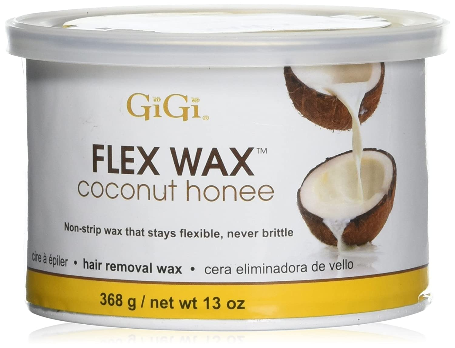 GIGI flex wax coconut honee #0349 (13oz/368g)