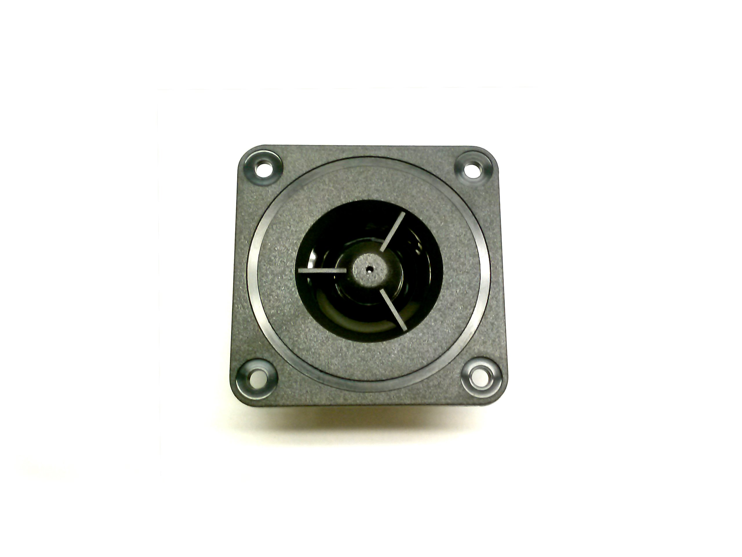 1/2'' SHIELDED MYLAR DOME TWEETER ON 2'' SQUARE PLATE