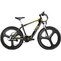 i-Bike Mountain Mud Unisex Adulto, Nero Bianco Giallo, Unica