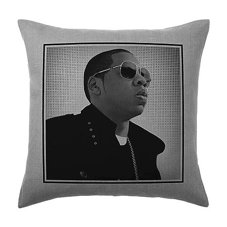 Jay Z - Cojín, diseño pop art - Gris plata - Bloc de 100 ...
