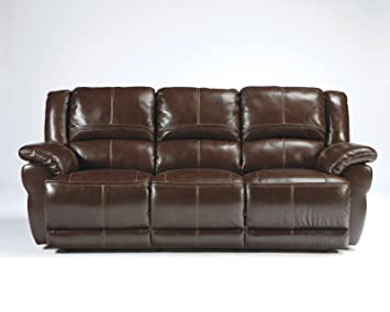 Good Ashley Furniture Signature Design   Lenoris Reclining Sofa   Power Recliner    Coffee Brown