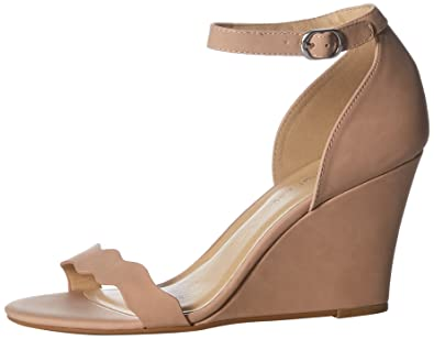 859fdaf1b46 CL by Chinese Laundry Women s Best Match Wedge Sandal Dusty Pink Smooth 6  ...