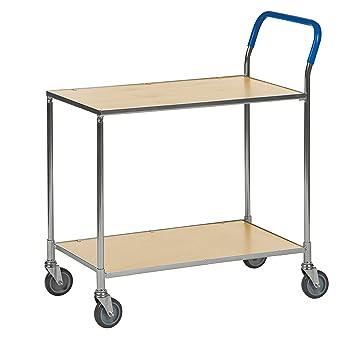 Mesa Piso carro carrito | estrecho carro carro transporte material carro con 2 estantes: Amazon.es: Bricolaje y herramientas