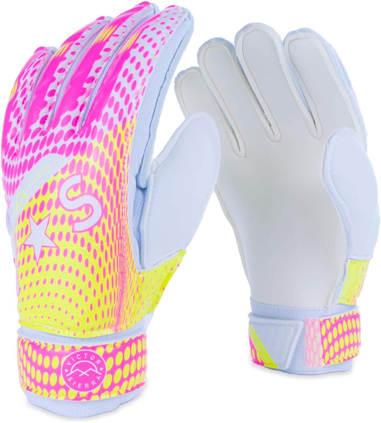 Victor Sierra Recoil Soccer Goalkeeper Gloves for Kids and Adults