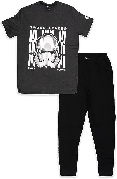 Star Wars Conjunto de pijama de manga corta para hombre de algodón