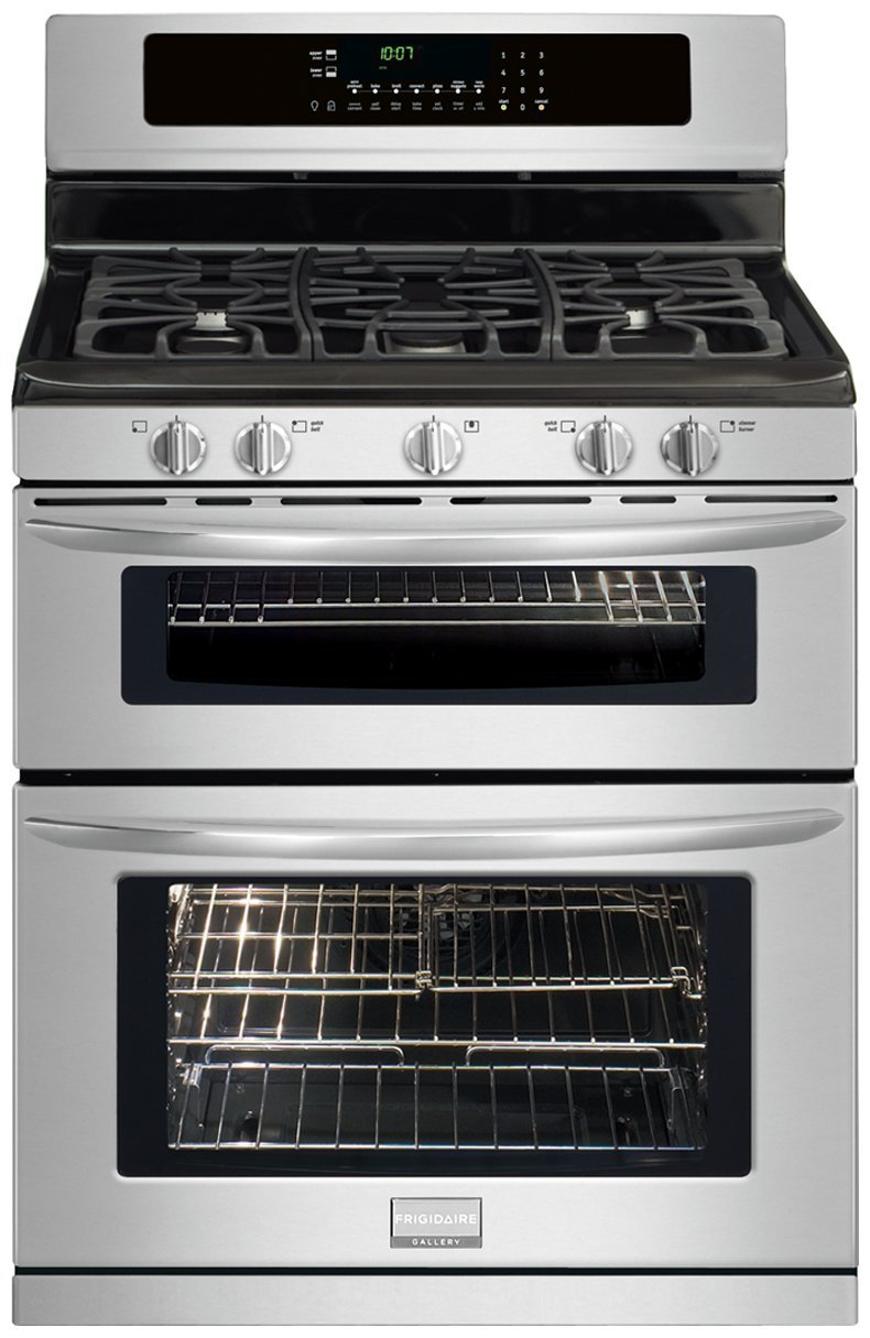 30 In. Gallery Series Double Oven Gas Range - Stainless Steel