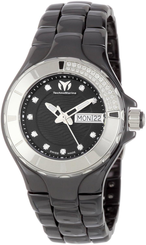 TechnoMarine Women s 110027C Cruise Ceramic 36mm Watch