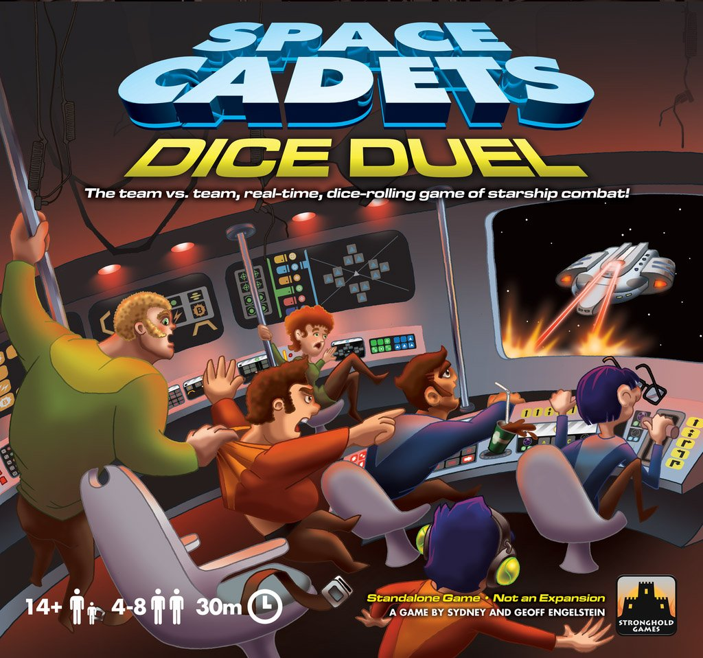 Space Cadets Dice Duel Flat River Group SG-2007