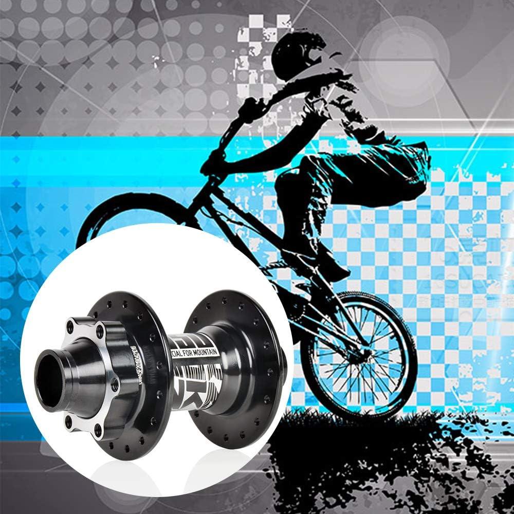 Radnaben Teile Mountainbike Scheibennabe f/ür City Mountain Road Bikes 32 Speichenl/öchern hochfester Verschlei/ßfestigkeit Jroyseter Fahrrad Vorderradnabe mit 110 * 20 mm