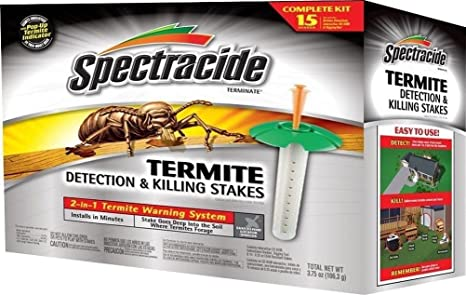 Spectracide hg-96115 caja de 15 detección de termitas y asesinato juego