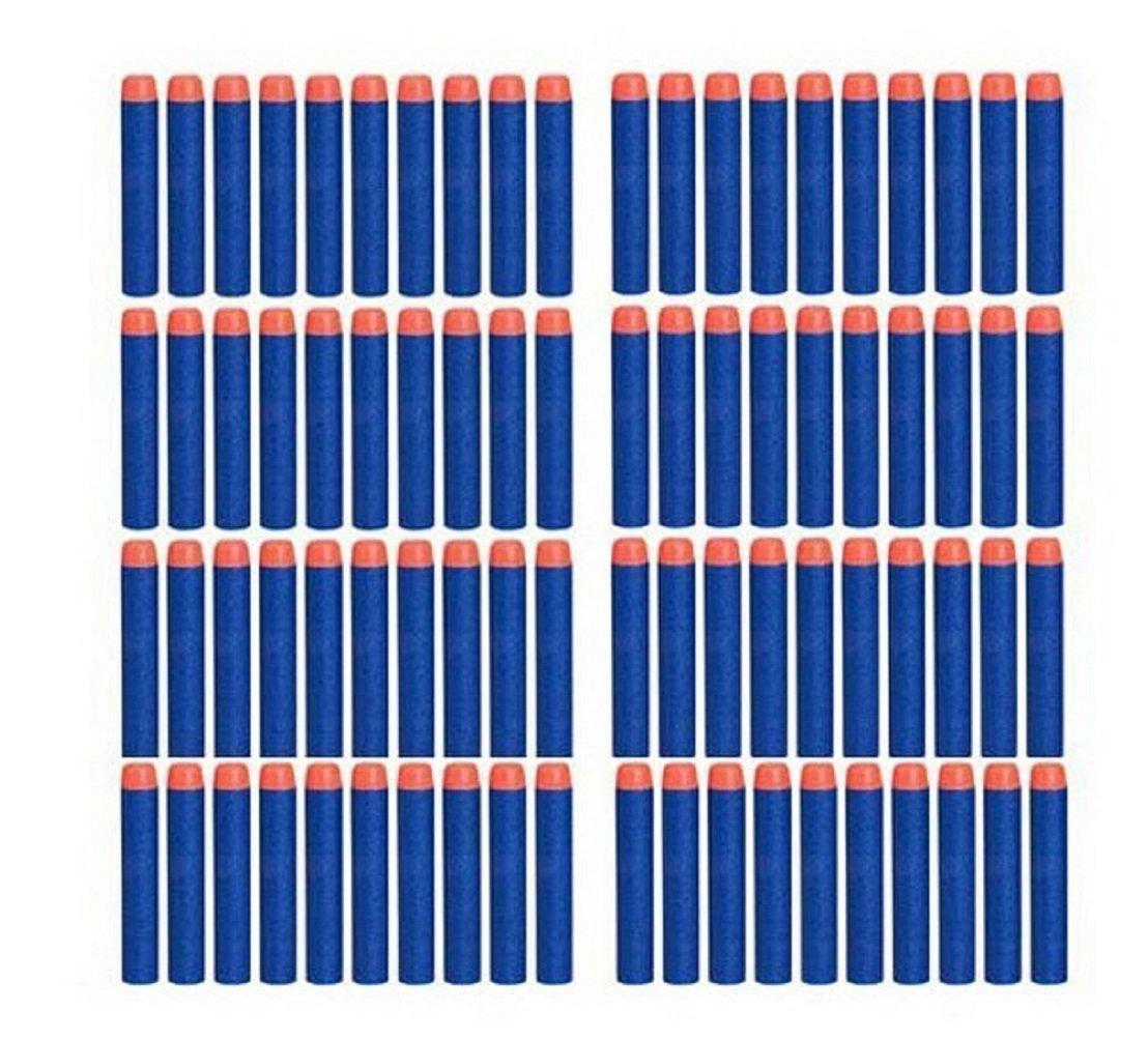 Homiki 100 Piezas Dardos de Goma Espuma Suave Balas Blasters para Nerf N-strike Elite Serie Juguete Creativo Dievertido para Ni/ños Adultos Fiesta de Cumplea/ños Muy Chulo