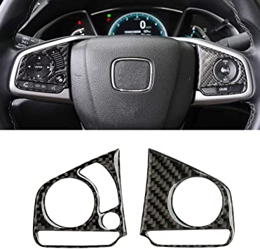 Automatic Transmission Thenice for 10th Gen Civic ABS Plastic Carbon Fiber Style Gear Panel Trim Shift Box Decoration Cover for 2016 2017 2018 2019 Honda Civic
