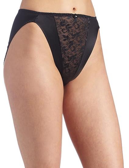 2338d08b1 Carnival Womens High Cut Lace Bikini Panty at Amazon Women s Clothing  store  Bikini Underwear