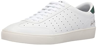 Fred Perry Umpire Leather White Green 40 ope0o