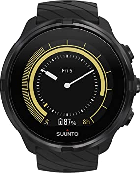 Suunto 9 GPS Sports Watch with Long Battery Life & Wrist-Based Heart Rate
