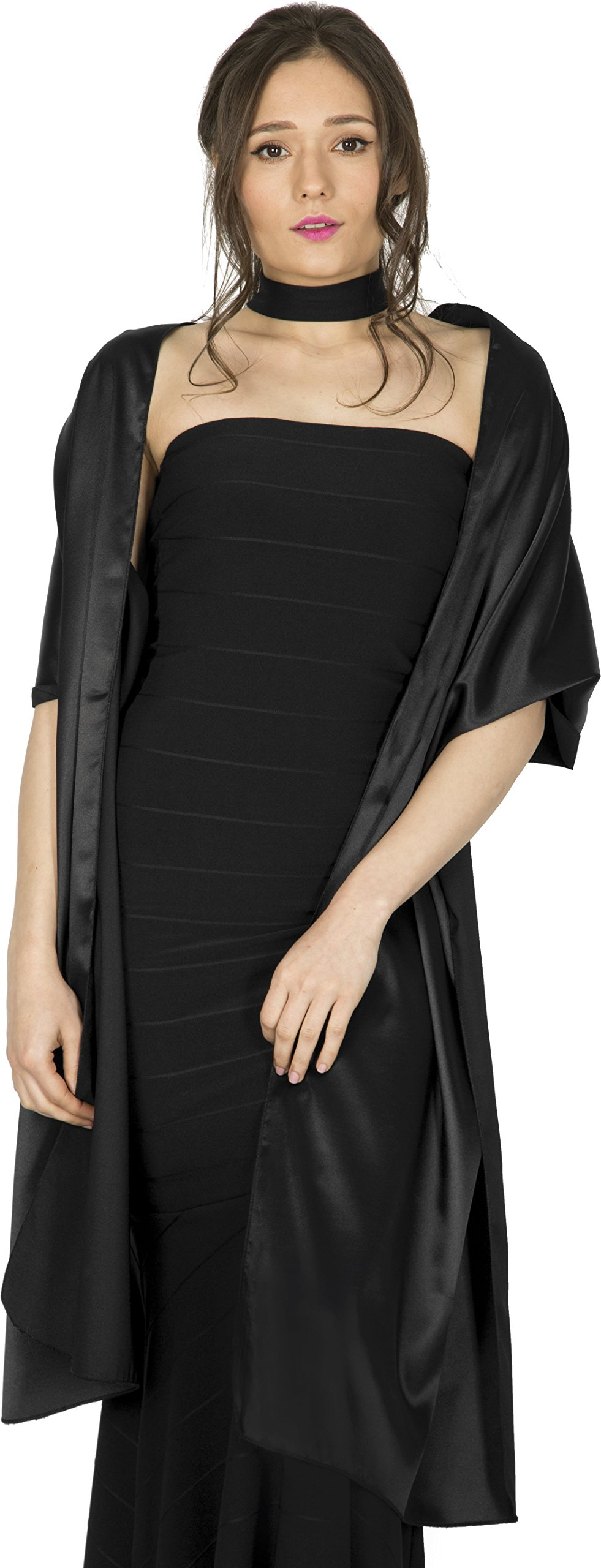 Black Shawls and Wraps for Evening Dresses: Amazon.com