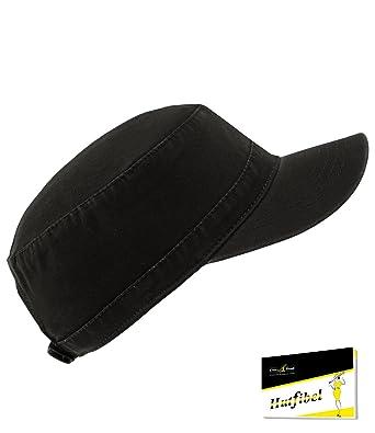 EveryHead Atlantis Ladies Urbancap Urban Cap Army Gi Cuba Teller S Hat with  Visor Peaked Summer Uni for Women (AL-303-S17-DA2) incl Hutfibel 66e5a962b4e