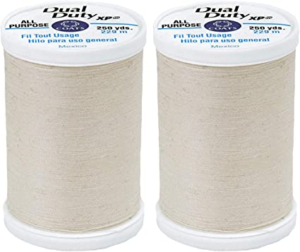 Coats Dual Duty XP General Purpose Thread 250yd-Business Grey