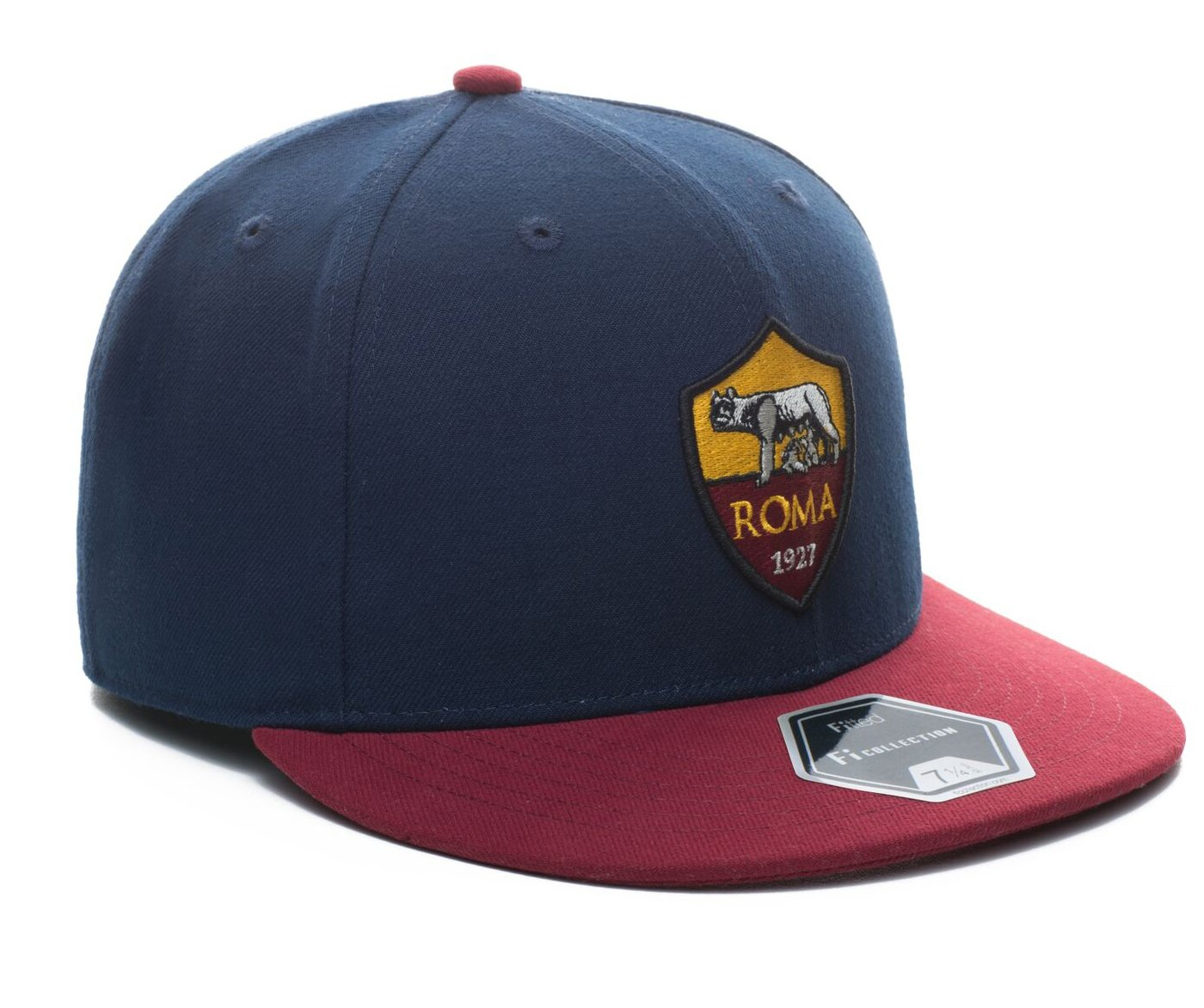 7e70678264ba4 Amazon.com   Fi Collection AS Roma True Fitted Team Cap (7)   Sports    Outdoors