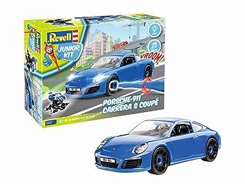 Revell Porsche 911 Carrera S Vehículo para Construir y Jugar,, Länge ca. 23,8 cm (00821): Amazon.es: Juguetes y juegos