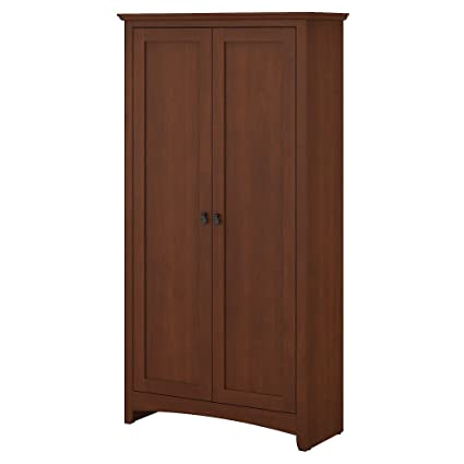 Amazon Bush Furniture Buena Vista Tall Storage Cabinet With