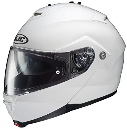 HJC IS-MAX II Modular Motorcycle Helmet (White, XXX-Large)