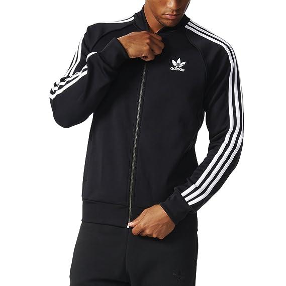 3526091867 adidas Originals Men's Superstar Track Jacket, Black, Medium: ADIDAS ...