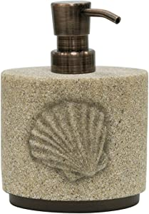 Allure Home Creation Folly Beach Resin Lotion Bottle