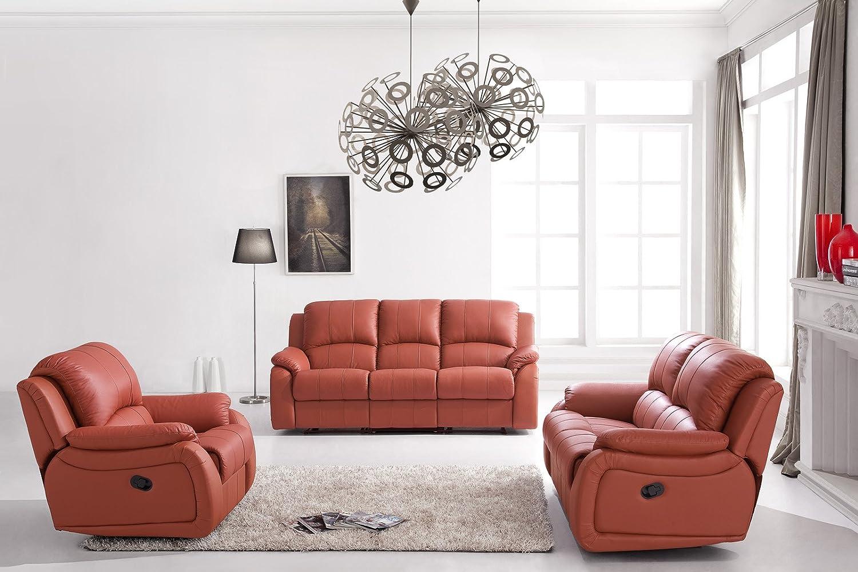 Voll-Leder-Relax Fernsehsofas-Polstermöbel-Sessel Fernsehsessel 5129 ...