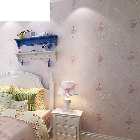 Verde goffrato bambini stanza tappezzeria/ camera da letto ragazze ...