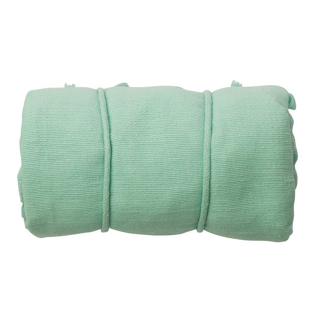 Peppa BHM 100Hamac pour bébé, coton bio Menthe Babylonia
