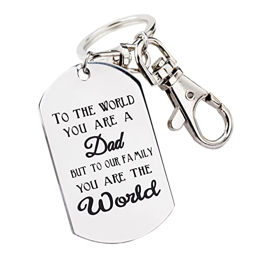 Amazon Fathers Day Gifts Mens Keychain Novelty Birthday Gift