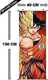 CoolChange Kakemono/Poster de la Série Dragon Ball, Motif: Super- Saiyajin