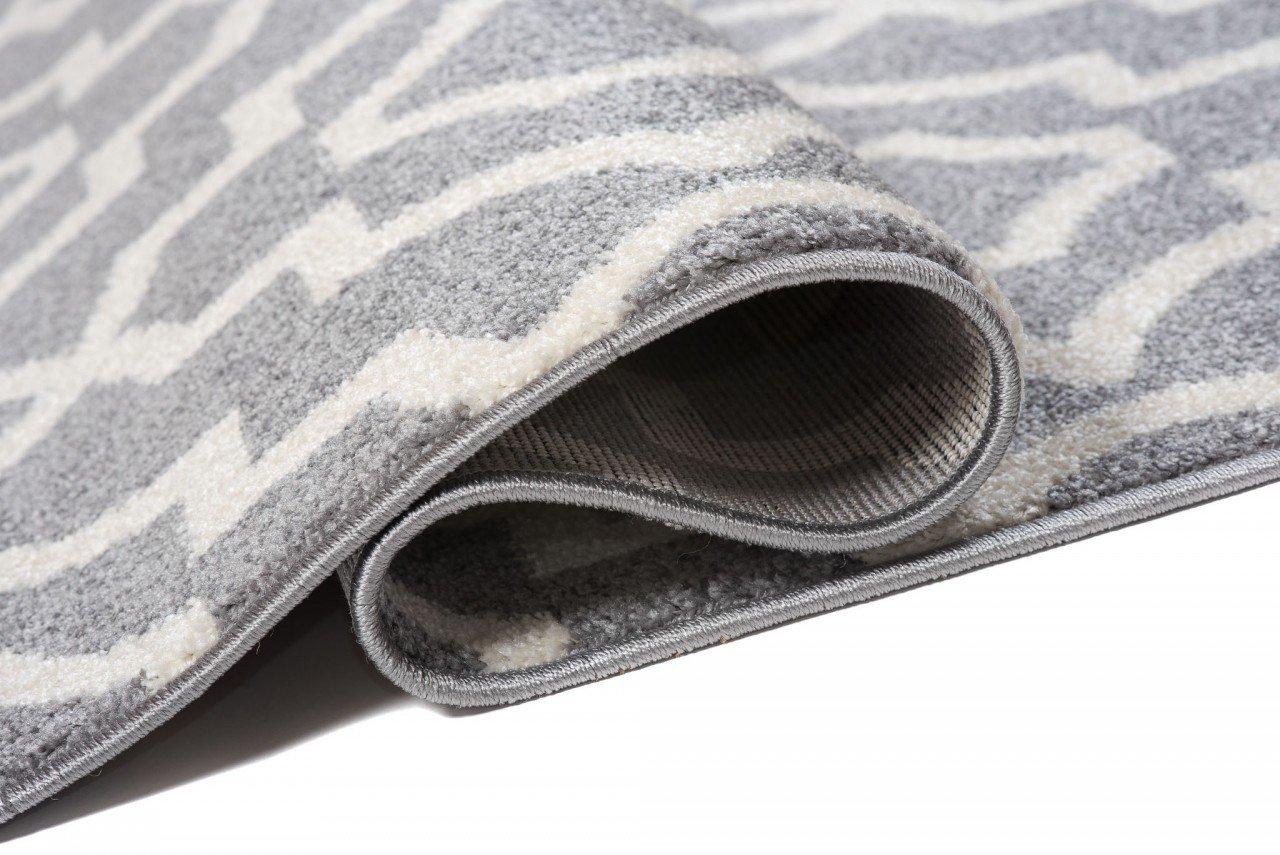 Orientalisches Marokkanisches Teppich - Dichter Dichter Dichter Und Dicker Flor Modern Designer Muster - Ideal Für Ihre Wohnzimmer Schlafzimmer Esszimmer - Creme Beige - 140 x 190 cm   CASAWeißA   Kollektion von Carpeto B077MMWYB7 Teppiche 863573