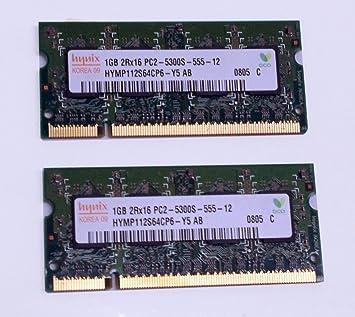 Hynix HYMP112S64CP6-Y5 AB PC2-5300S-555-12 ID10918 - Ampliación de memoria RAM para ordenador portátil (1 GB): Amazon.es: Informática