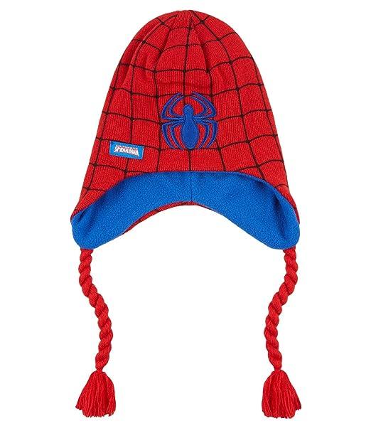 Spiderman Ragazzi Berretto di lana - rosso - 54  Amazon.it  Abbigliamento dea29a690e17