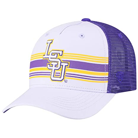 new concept 0b02e 26e29 Image Unavailable. Image not available for. Color  Top of the World Men s LSU  Tigers Purple Inferno Adjustable Hat ...