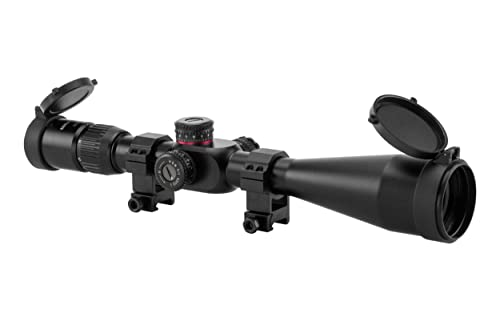 Monstrum Tactical 6-24x50 First Focal Plane (FFP) Rifle Scope
