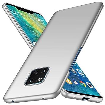 COVO® Funda Huawei Mate 20 Pro Carcasa,Funda ultradelgada para PC Funda Delgada Anti-colisión Carcasa para Huawei Mate 20 Pro(Plata)