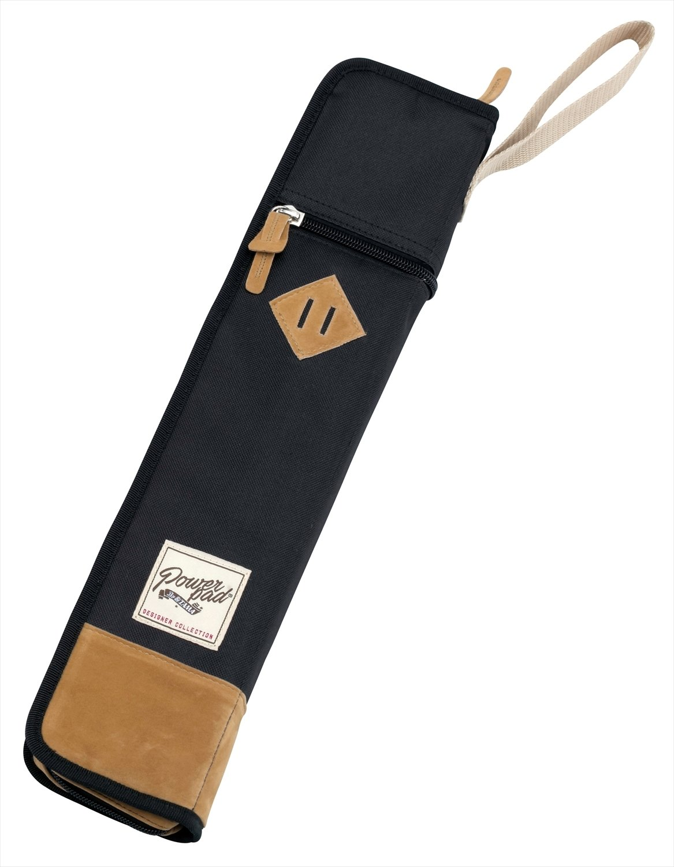 TAMA TSB12BK POWERPAD Stick Bag - Black - 6 pairs of sticks and mallets