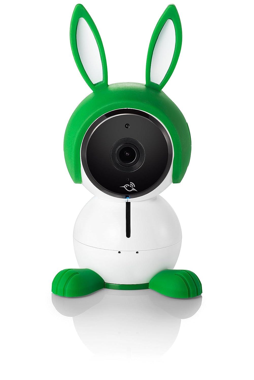 Arlo Baby Monitor | Smart WiFi Baby Camera 1080P HD with 2-Way Audio, Night Vision, Air Sensors, Lullaby Player, Night Light, Works with Amazon Alexa, HomeKit (ABC1000) Netgear ABC1000-100PAS