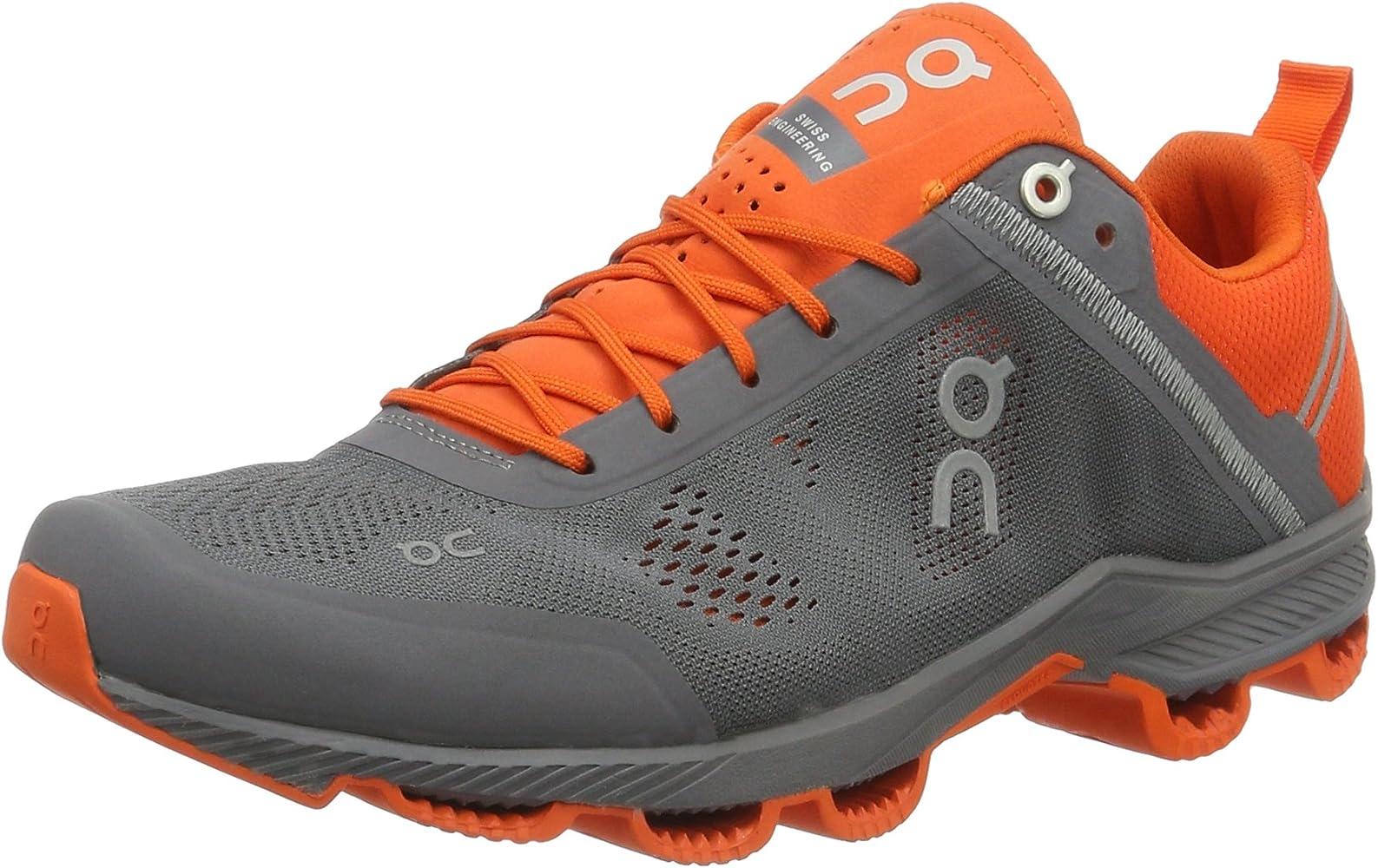 on cloud shoes orange