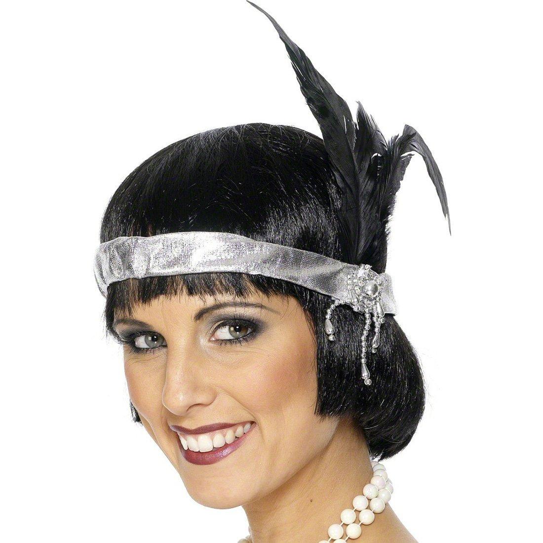 Diadema charlestón años 20 tocado accesorios vestuario traje ...
